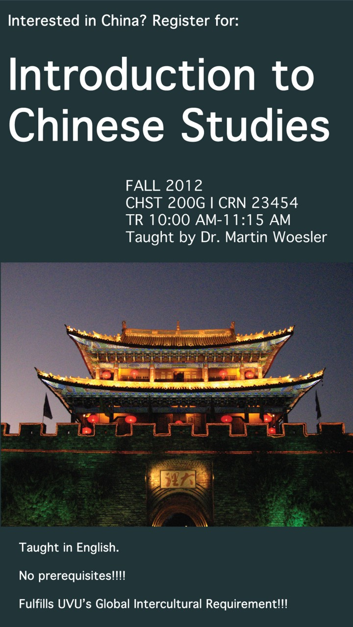 Introduction to Chinese Studies