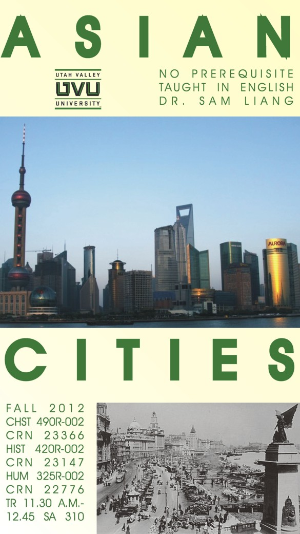 Special Topics: Asian Cities